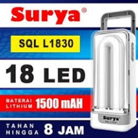 Surya Syt L101 Emergency Led surya lu emergency syt l101 light led 10 smd senter