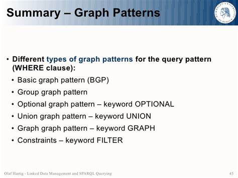 making pattern queries bounded in big graphs an overview on linked data management and sparql