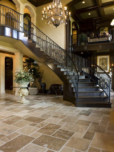 tuscan style flooring mansion on pinterest mansions staircases and entry stairs