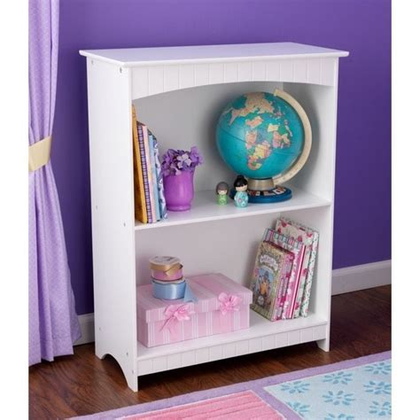 kidkraft 32 h nantucket white bookcase 86625