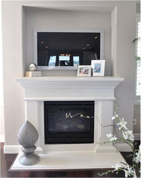 Tv Above Fireplace Mantel by 9 Ways To Design Around A Tv Centsational