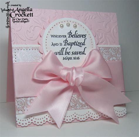 Handmade Baby - believe baptism card cards religious