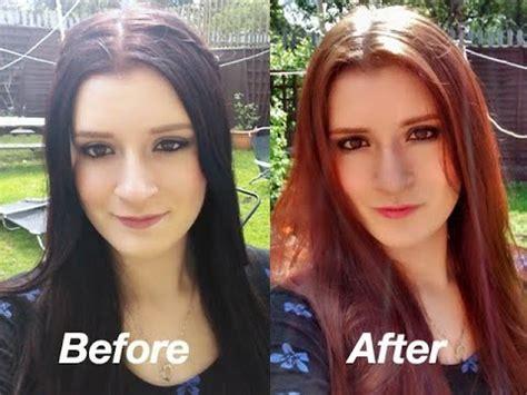 como quitar un tinte negro del cabello para ellas net extraer el tinte de cabello sin decoloraci 243 n youtube
