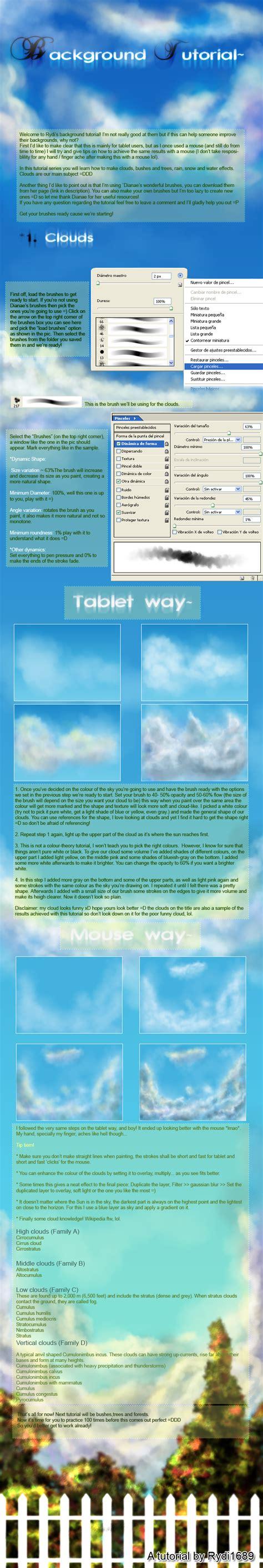 tutorial wallapaper background tutorial clouds by rydi1689 on deviantart