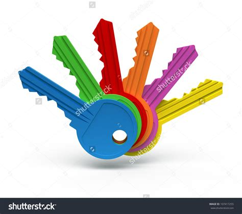 key color key clipart colored key pencil and in color key clipart