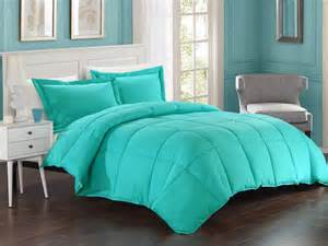 comforter set turquoise alternative comforter set
