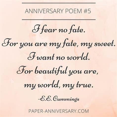 13 Beautiful Anniversary Poems to Inspire   Anniversary
