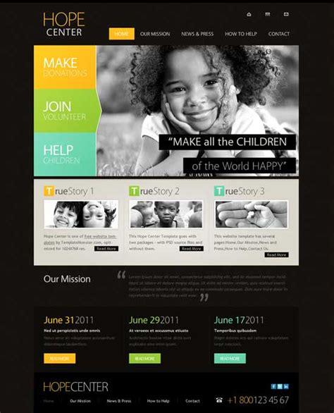 50  Best Charity Website Templates Free & Premium