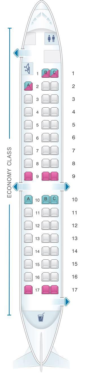 United Baggage Seat Map Darwin Airline Saab 2000 Seatmaestro
