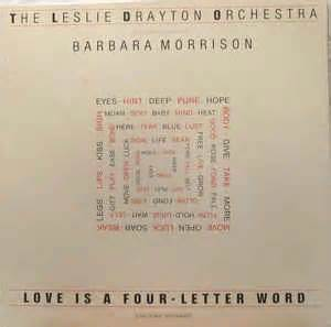 is a four letter word album cover the leslie drayton orchestra featuring barbara morrison