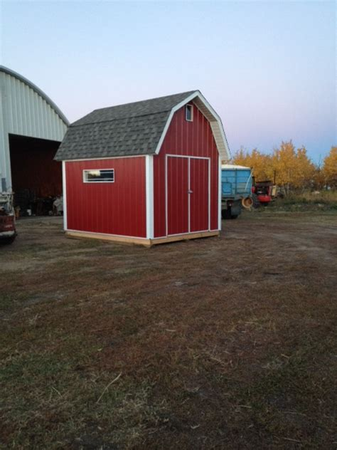 10x12 Gambrel Shed by 10x12 Gambrel Shed With Metal Siding Icreatables