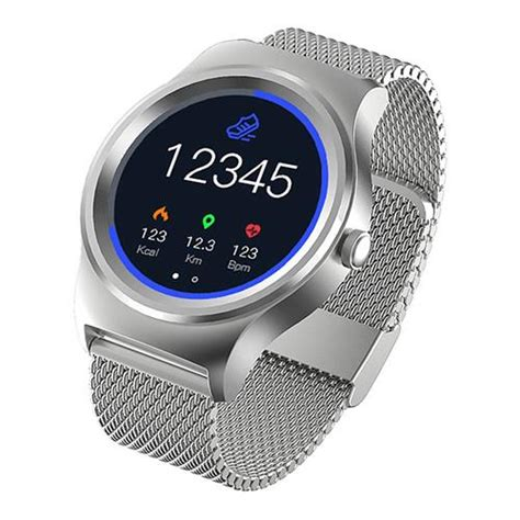 Smartwatch Sma 09 Sma 09 Smartwatch Rate Monitor Silver