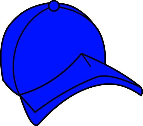 blue clip blue baseball cap clipart free clip