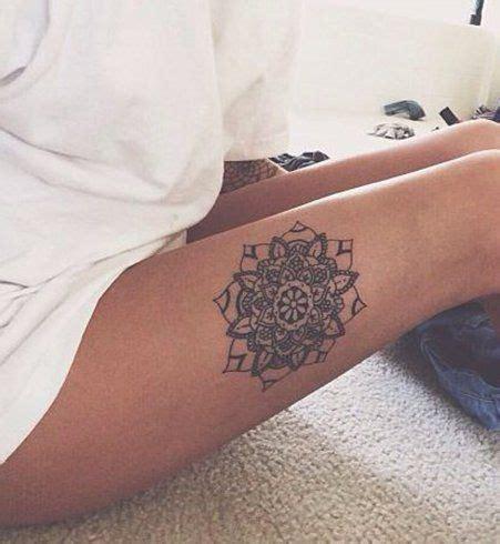 tattoo mandala jambe les 25 meilleures id 233 es de la cat 233 gorie tatouages sur la