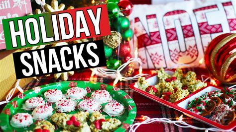 christmas food snack ideas diy snack ideas treats laurdiy