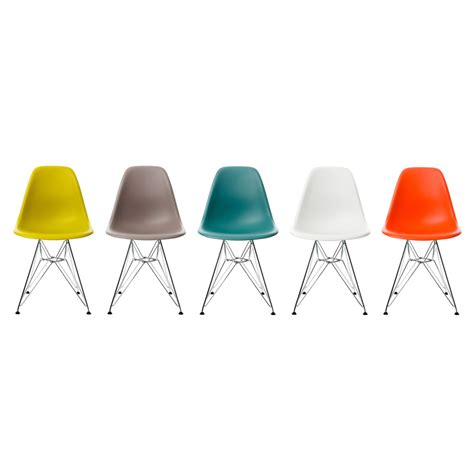 Eames Chair by Eames Plastic Side Chair Dsr Vitra