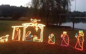 outdoor nativity that light up blowmold light shop