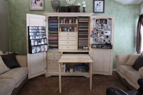 Scrapbook Armoire by Just Scrapbook