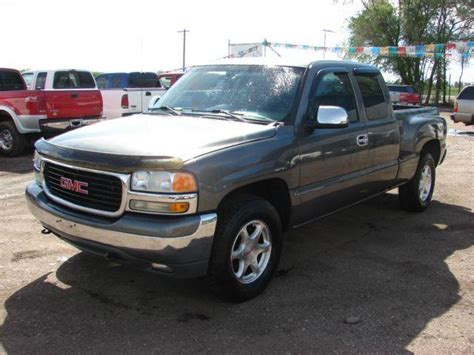 Colorado Extended Cab Fort Collins 2002 Gmc 1500 Sle 4dr Extended Cab 4wd Sb In Fort