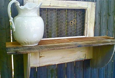 Shelf Of Chicken by White Reclaimed Wood Shelf With Chicken Wire Omero Home