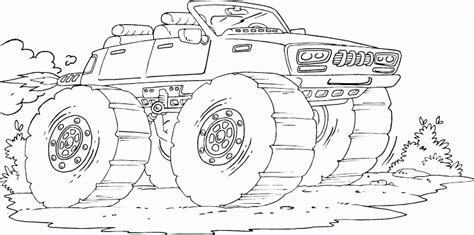 jet truck coloring page monster truck with jet engine coloring pages printable