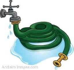 Garden Hose Clip Of A Garden Hose Attached To A Faucet