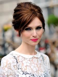 hair colours for 60s updo hair on pinterest updo finger waves and side chignon