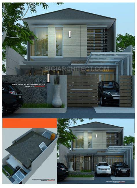 model rumah  lantai tropis modern khas sigiarchitect