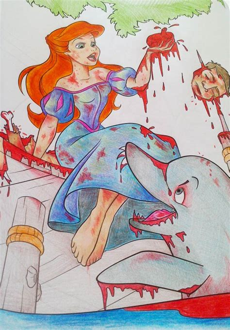 Corrupting kids coloring books into trashy pictures