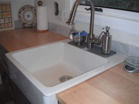 top mount farmhouse sink sinks awesome overmount farmhouse sink top mount