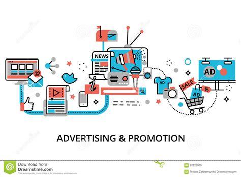 print layout view là gì concept reclame marketing en bevordering proces vector