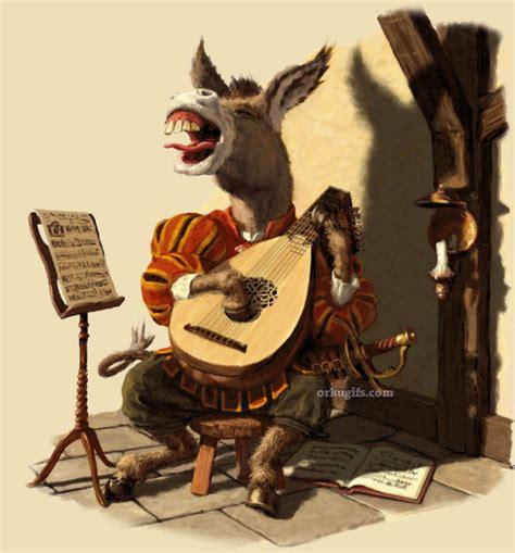 donkey singing images  messages