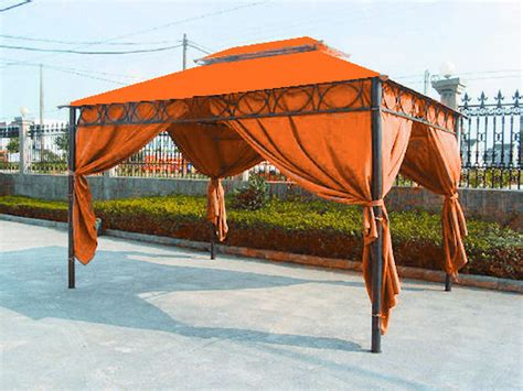 pavillon 3x4 mit seitenteilen pavillon cape town 3x4 terracotta mit seitenteilen