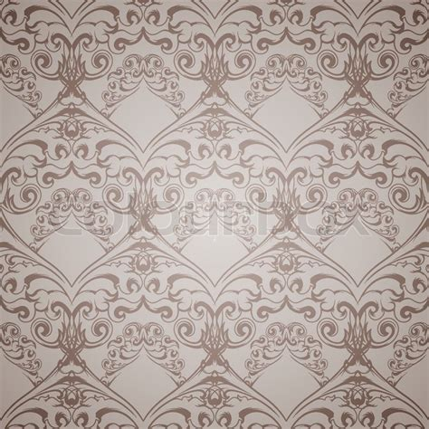 victorian pattern texture seamless victorian pattern for wallpaper vector