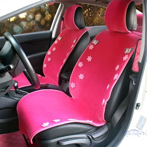 pink plush seat covers popular butterfly car seat covers buy cheap butterfly car