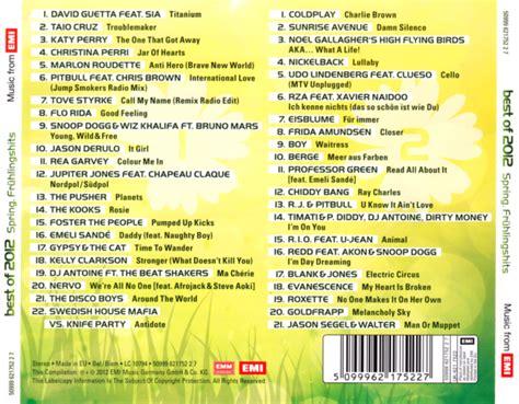 best of 2012 zur serie