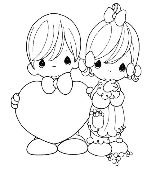 precious moments valentine coloring pages az coloring pages