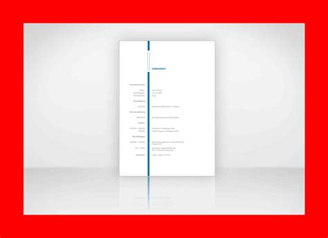 Gestaltung Lebenslauf by 21 Musterbewerbungsschreiben Als Wordvorlage
