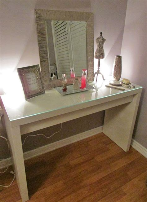 Ikea Vanity Table Ikea Vanity Table Idea Smoke And Mirrors Pinterest