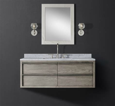 Modern Floating Vanities by The Luxury Look Of High End Bathroom Vanities
