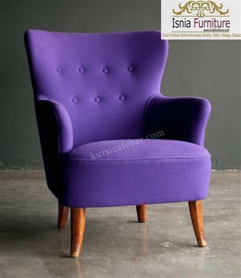 Busa Dudukan Kursi model kursi sofa 1 dudukan ungu terbaru model kursi cafe