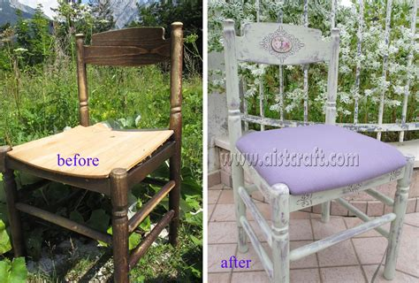 chalk paint distress shabby chic chair tutorial furniture