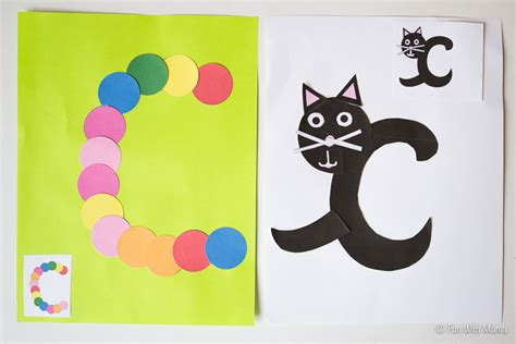 c crafts for printable letter c crafts c is for cat with