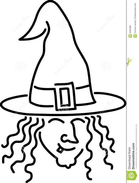 Bruxa Dos Desenhos Animados Imagens de Stock Royalty Free
