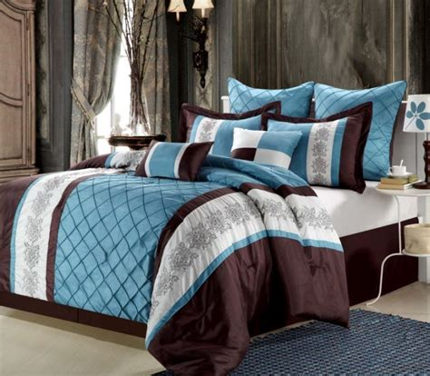 blue brown comforter vikingwaterford com page 140 scandinavian bedroom with