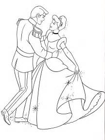 free coloring pages drawings cinderella