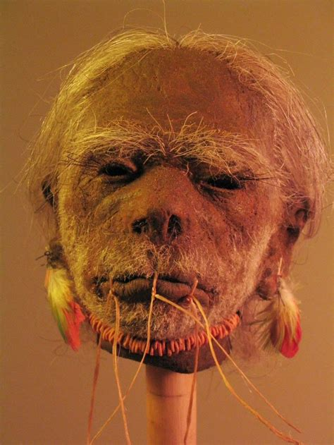 propnomicon preserved shrunken head
