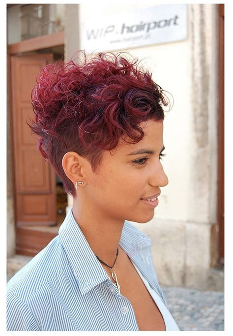 older women with asymetric hairstyles curly asymmetrical cut hair curly styles pinterest