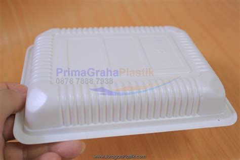 Tray Makanan by Tb Tray Plastik Putih Hitam Solid Untuk Display Buah