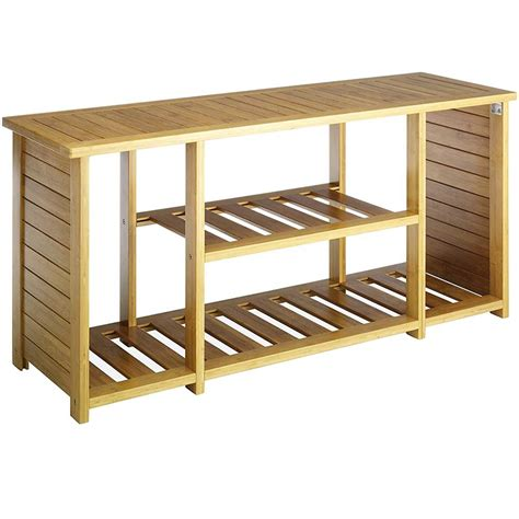 bamboo storage bench bamboo storage bench in storage benches
